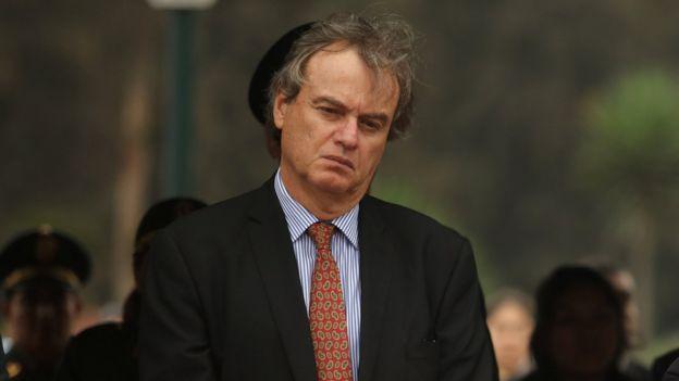 Carlos Basombrío, ministro del Interior.