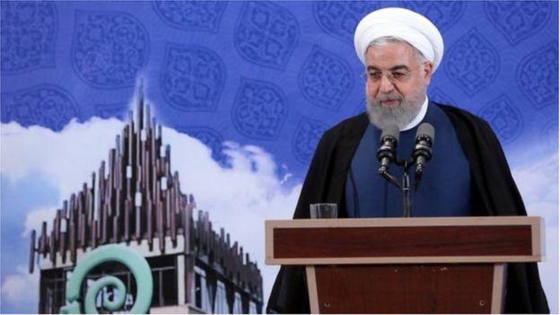 Tổng thống Hassan Rouhani nhấn mạnh rằng tất cả các bước đi của Iran là có thể hủy bỏ được