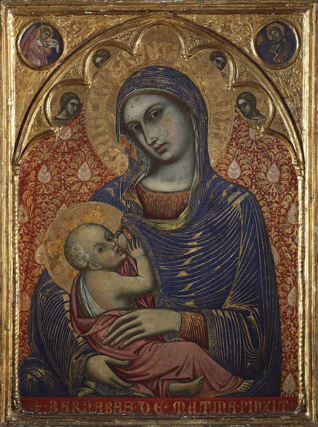 Madonna de Barnaba da Modena (activo 1361-1383)