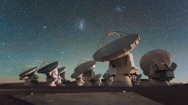 Atacama Large Millimeter/submillimeter Array en Chile.