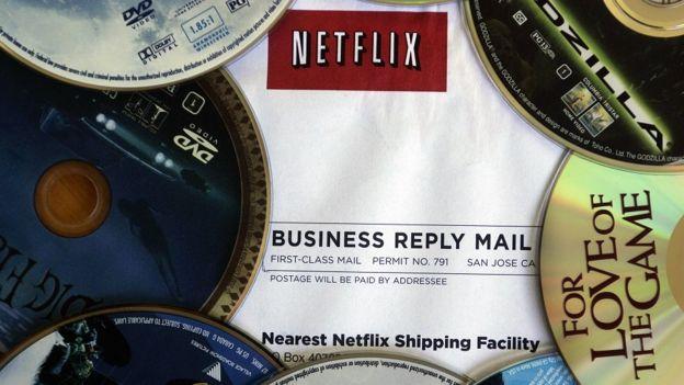 Discos de Netflix