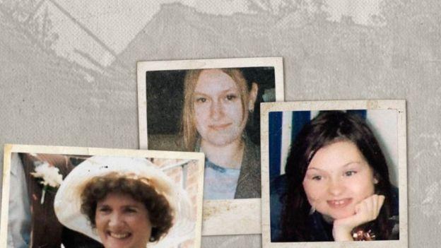 Lucy Lowe , Linda y Sarah