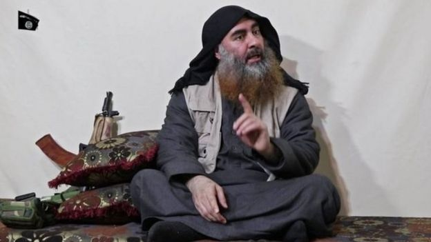 IŞİD lideri Bağdadi'nin Nisan 2019'da yayımlanan videosu