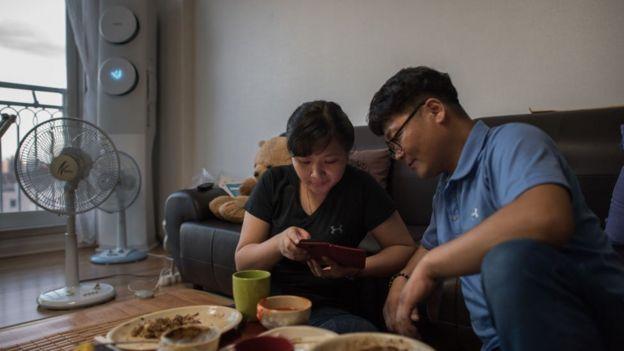 Một cặp chồng Hàn- vợ Việt (ảnh minh họa)