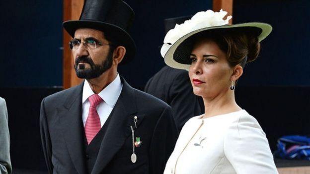 شہزادی حیا اور شیخ محمد