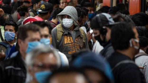 """En México se ha registrado un alza en otras enfermedades como """"neumonías atípicas"""", lo que se cree que en realidad es covid-19."""