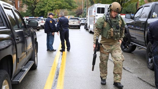 Pittsburgh shooting: Multiple casualties at Squirrel Hill