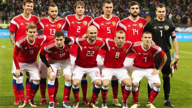 Selección rusa de fútbol