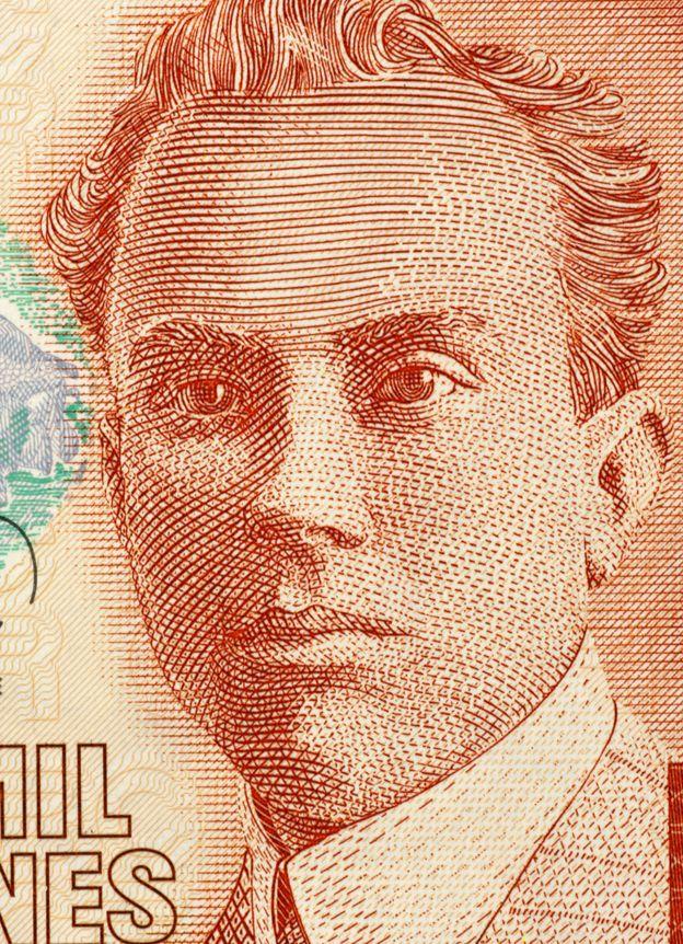 Efigie de Picado Twight en un billete de 2000 colones