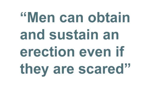 引用箱:即使他们害怕,男人也可以获得并维持勃起