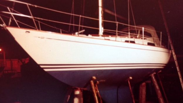 Nigel Minchin's yacht