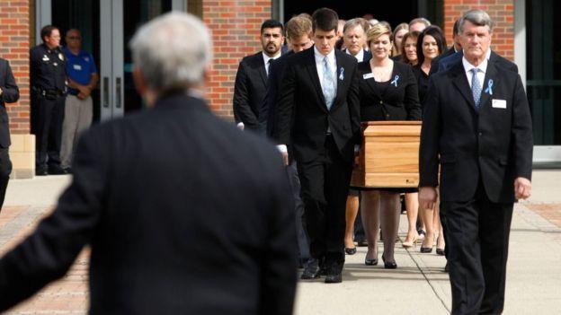 Funeral de Otto Warmbier.