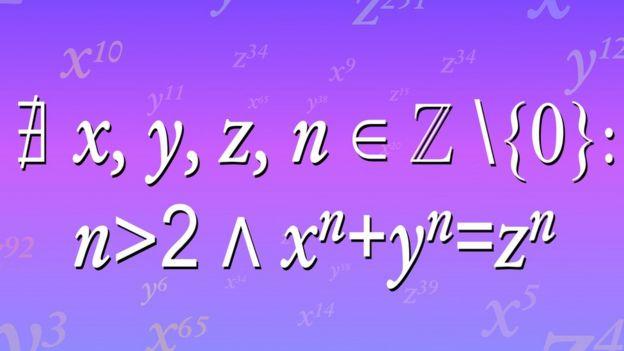 El último teorema de Fermat.