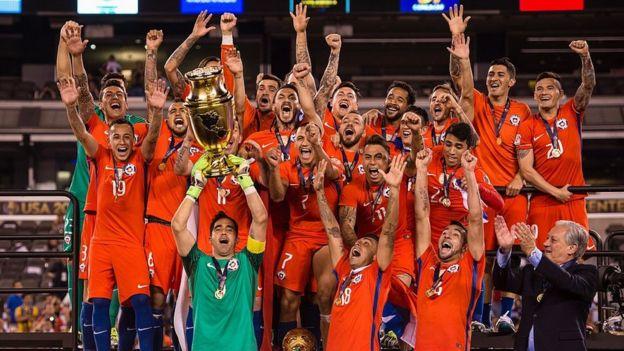 Chile con la copa