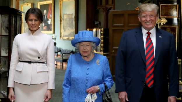 Image result for Trump UK trip is a disaster