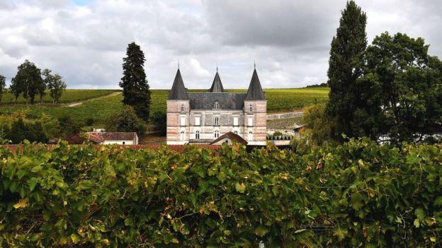 Замок в округе Коньяк