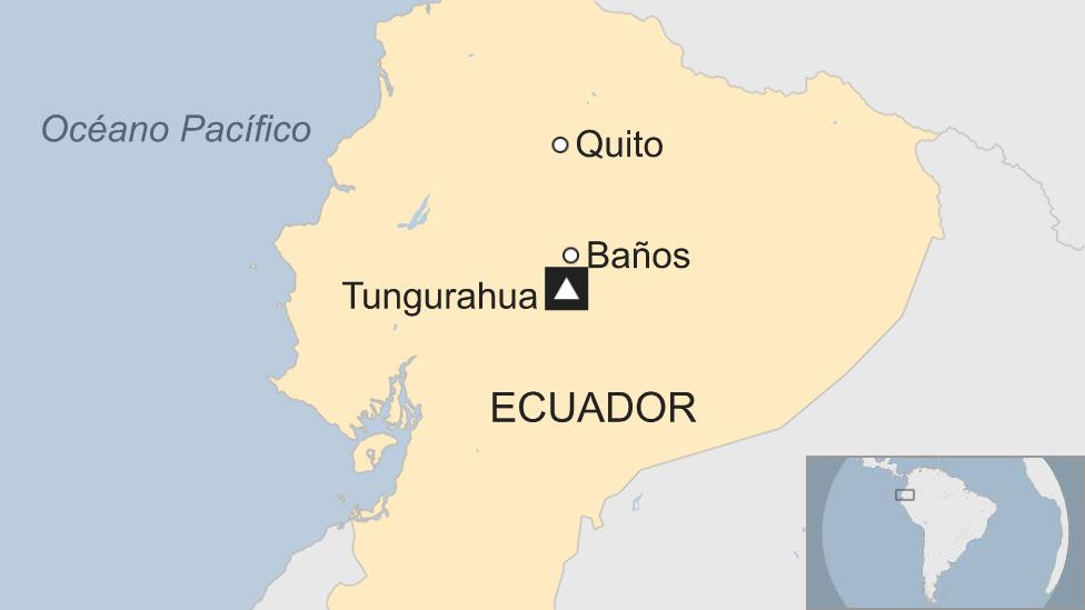 Mapa Ecuador.