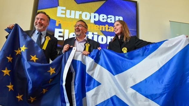 EU Elections 2019: SNP secures three seats as Labour vote