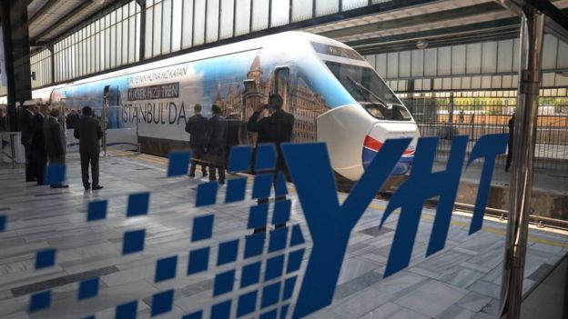 Halkalı'dan Kapıkule'ye uzatılacak hızlı tren hattının Avrupa'daki hızlı tren ağlarıyla da entegre olması planlanıyor