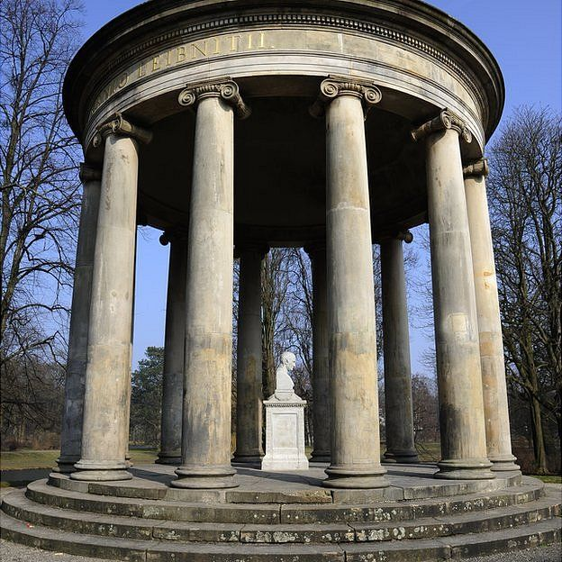 Templo Liebniz en Hannover, Alemania