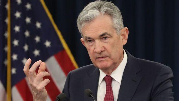 Jerome Powell, presidente de la Reserva Federal de EE. UU.