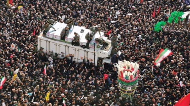 Cortejo fúnebre de Soleimani