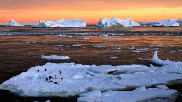 Lado leste da Antártida