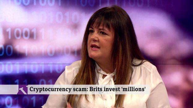 Jen McAdam on the BBC's Victoria Derbyshire programme