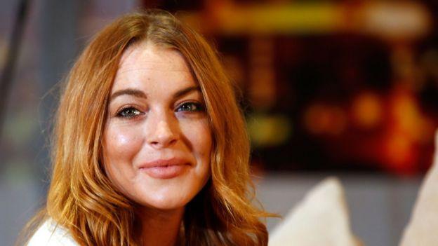 Actriz Lindsay Lohan