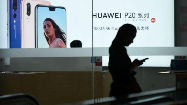 Huawei advert