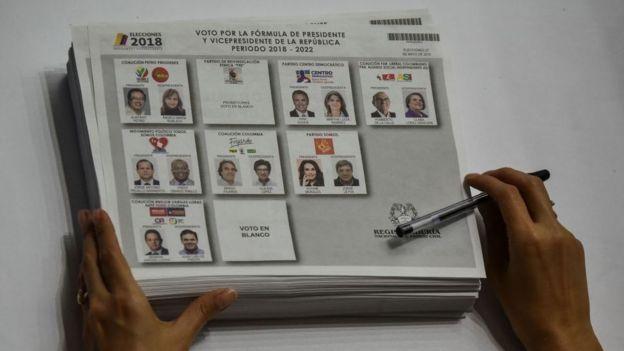 Papeletas de votación