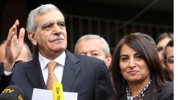 Ahmet Türk ve Aysel Tugluk