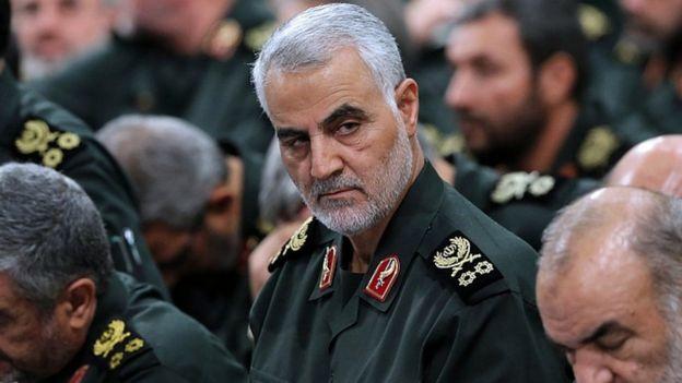 Commandant de la force Qods, le général major Qassem Soleimani à Téhéran en 2016