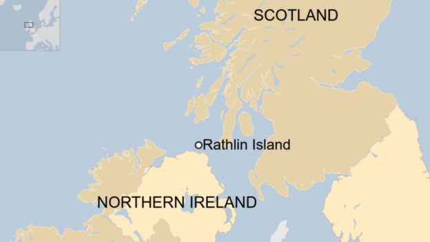 Rathlin Island is the northernmost point of Northern Ireland