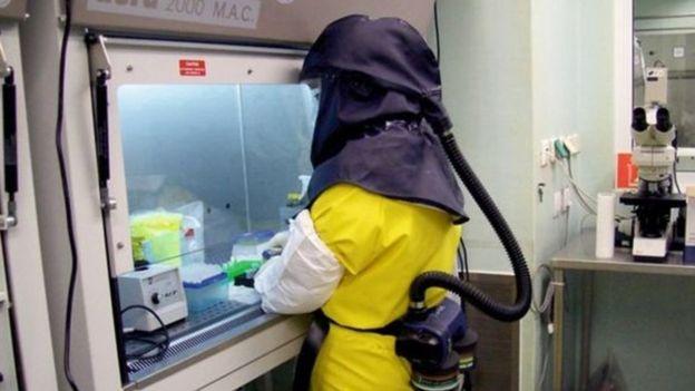 病毒实验室遵循生物安全等级