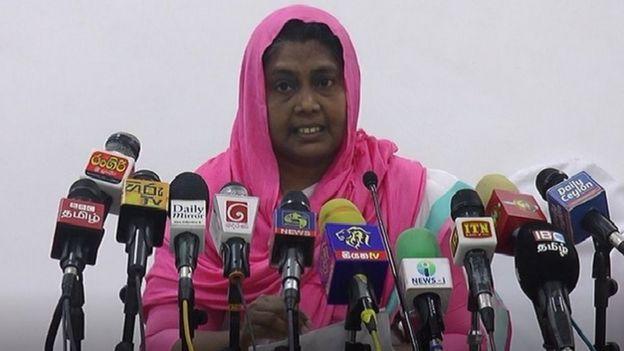 முஸ்லிம் பெண்கள் அபிவிருத்தி நம்பிக்கை அமைப்பின் உறுப்பினரான ஜுவைதீயா