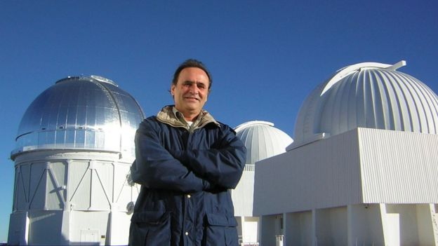 O astrônomo Augusto Damineli