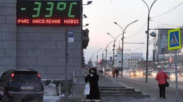 Nhiệt độ ở nhiều quốc gia xuống dưới 0 độ