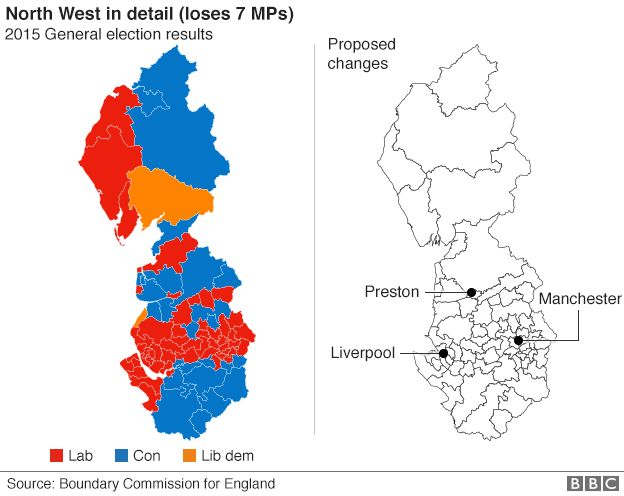 North West boundary changes