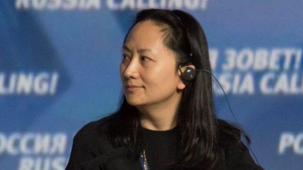 Bà Mạnh Vãn Chu là con gái của nhà sáng lập tập đoàn Huawei
