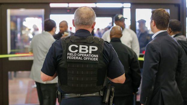 Agente do CBP