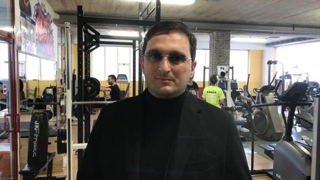 Spor salonu sahibi Francesco Clerico