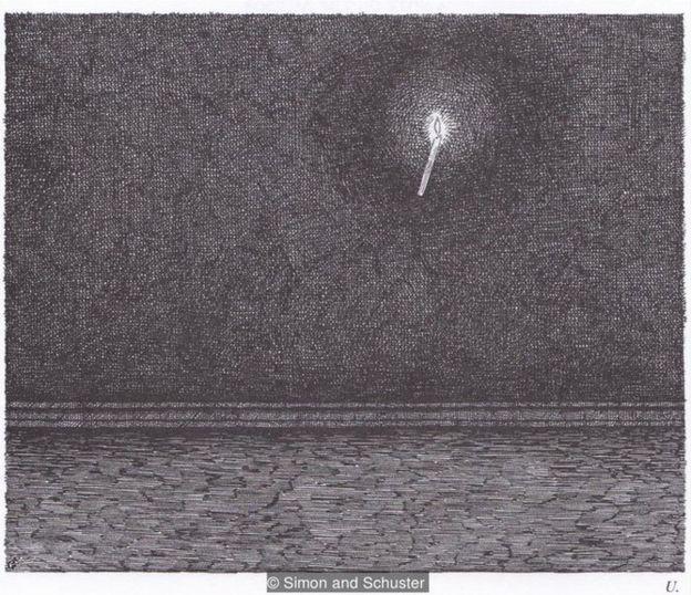 """""""《西翼》是一部笔墨绘制的视觉诗,是由梦的自由联想逻辑联系在一起的系列场景,""""德里说。"""