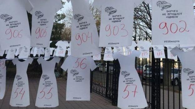 Жол кырсыктарынан каза тапкандарды эскерүү күнү, Бишкек, 15-ноябрь