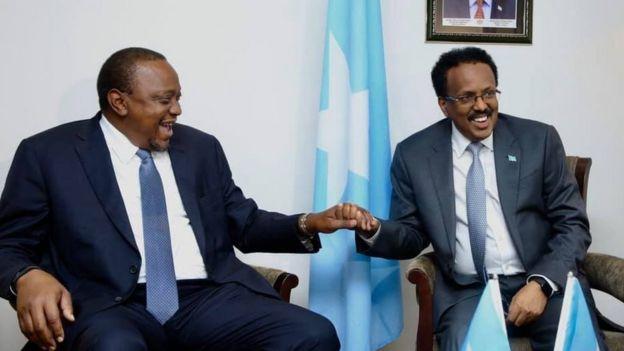 Uhuru Kenya iyo Maxamed Cabdullaahi Farmaajo