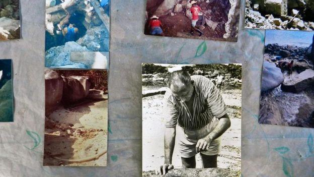 """雷金纳德•克鲁斯-威尔金斯,即""""淘金人"""",花了 27 年时间搜寻宝藏"""