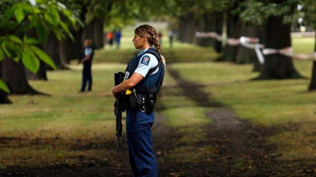 полиция в Крайстчерче