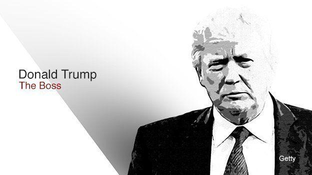 Donald Trump - The boss