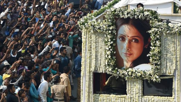 Image result for sridevi death