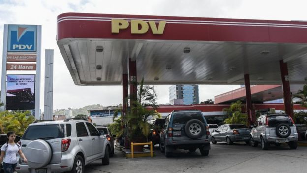 gasolinera PDVSA.